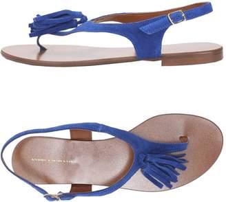 Andrea Morando Toe strap sandals