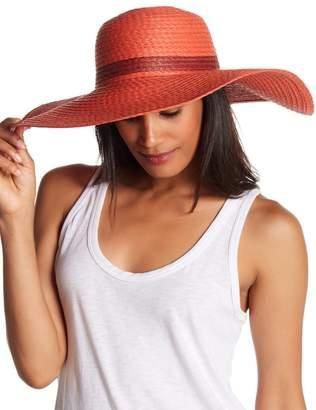 14th & Union Pop Color Straw Floppy Hat