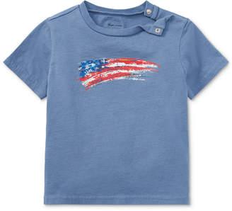 Polo Ralph Lauren Ralph Lauren Cotton Jersey Graphic T-Shirt, Baby Boys