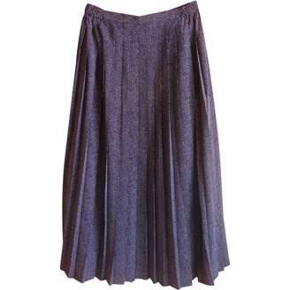 Rodier Navy Skirt for Women Vintage