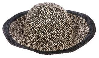 Eric Javits Patterned Straw Hat w/ Tags