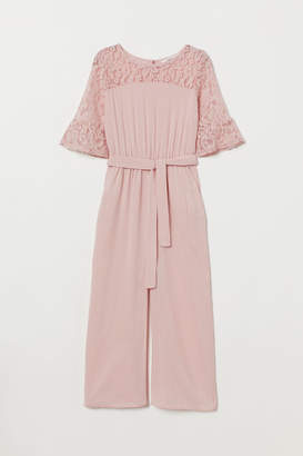H&M Jumpsuit with Lace - Pink
