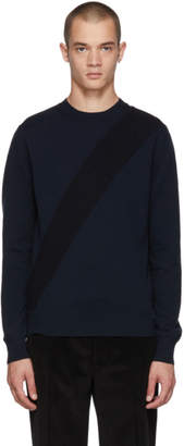 Stella McCartney Navy Knit Crewneck Sweater