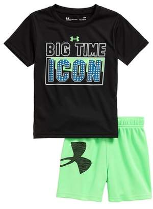 Under Armour Big Time Icon HeatGear(R) T-Shirt & Mesh Shorts