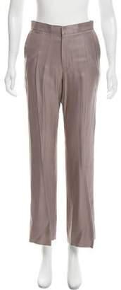 Todd Lynn Wide-Leg Silk-Blend Pants