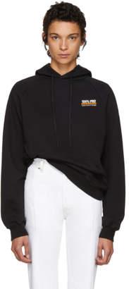 Vetements Black 100% Pro Normal Fitted Hoodie