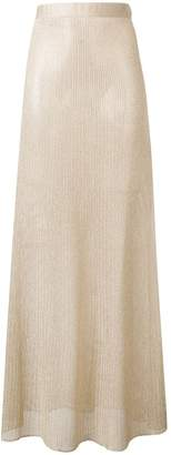Fisico knitted maxi skirt
