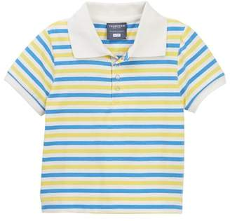 Toobydoo Francisco Striped Polo Shirt (Baby, Toddler, Little Boys & Big Boys)