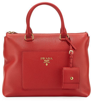 Prada Vitello Daino Tote Bag $1,700 thestylecure.com
