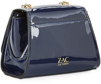 Zac Posen Eartha Mini Patent Chain Crossbody Bag