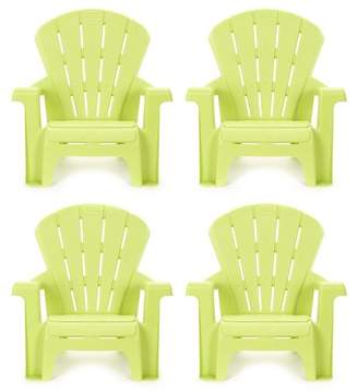 Little Tikes Garden Chair - Green (4pk)