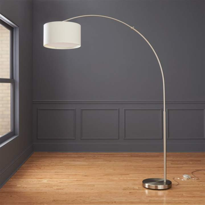 Cb2 Big Dipper Arc Brass Floor Lamp