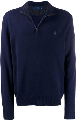 Polo Ralph Lauren half-zipped jumper
