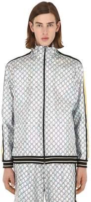Gucci Gg Supreme Logo Jersey Jacket