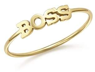 Rachel Zoe Zoë Chicco 14K Yellow Gold Boss Ring
