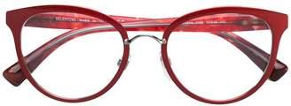 Valentino Eyewear round frame glasses
