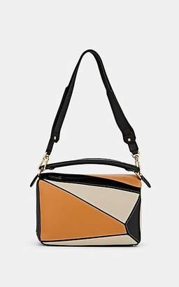 Loewe Women's Puzzle Medium Leather Shoulder Bag - Lt Oat