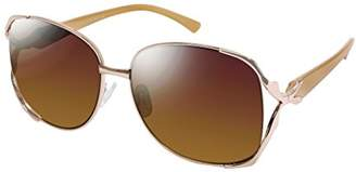 Elie Tahari Women's Th643 Rgdnd Round Sunglasses