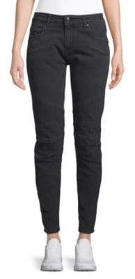 Pierre Balmain Paneled Skinny Jeans