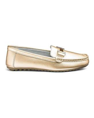 28a6e39dbbe Heavenly Soles Leather Loafers EEE Fit