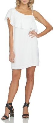 Women's 1.state Ruffle One-Shoulder Dress $119 thestylecure.com