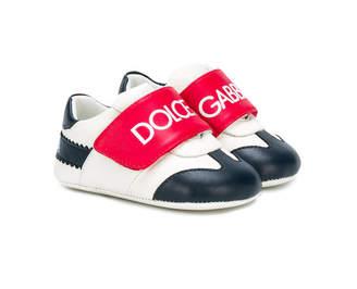 Dolce & Gabbana logo touch strap sneakers