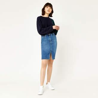 Warehouse Split Front Pencil Skirt