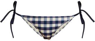Solid & Striped The Charlotte gingham bikini briefs