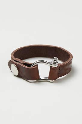 H&M Leather Bracelet - Beige