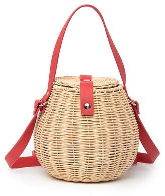 Straw Studios Bamboo Bucket Bag