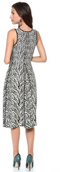 Issa Jaquard Sleeveless Dress