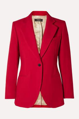 Theory Cotton-twill Blazer - Red