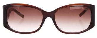 Chopard Embellished Gradient Sunglasses