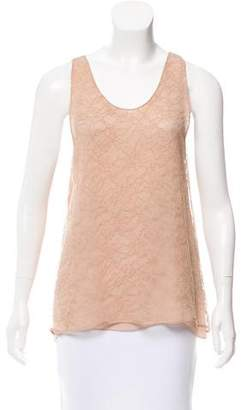 Chloé Sleeveless Lace Top