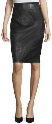 WORTHINGTON Worthington Womens High Waisted Pencil Skirt