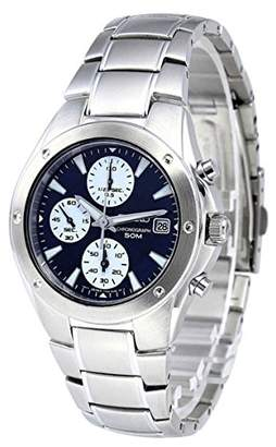 Seiko Men's SNDA97 Chronograph Dial Stainless Steel Watch