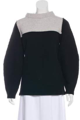 J Brand Wool-Blend Colorblock Sweater