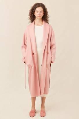 Mansur Gavriel Cashmere Cozy Coat - Blush