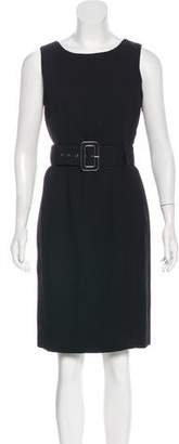 Calvin Klein Sleeveless Belted Dress w/ Tags