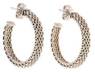 Tiffany & Co. Mesh Hoop Earrings