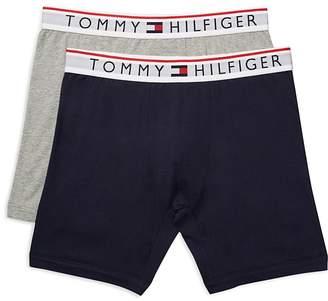 Tommy Hilfiger Logo Boxer Briefs, Pack of 2