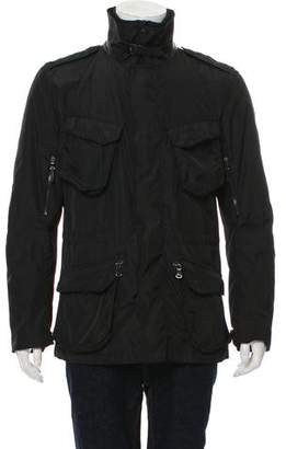 Ralph Lauren Black Label ZIp-Front Utility Jacket