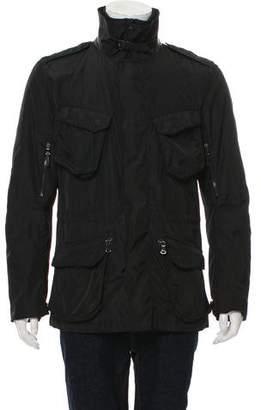 Ralph Lauren Black Label ZIp-Front Utility Jacket