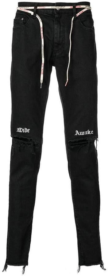 Represent Schmale Jeans