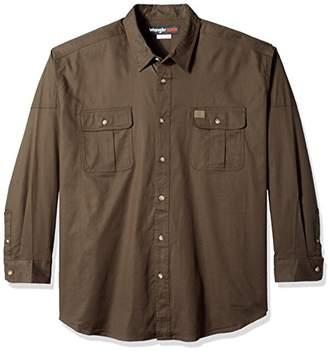 Wrangler Men's Big-Tall Riggs Workwear Big and Tall Work Shirt Shirt