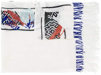 Schumacher Dorothee abstract print scarf