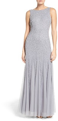 Women's Adrianna Papell Beaded Gown $329 thestylecure.com