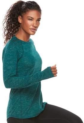 Tek Gear Women's Raglan Long Sleeve Tee