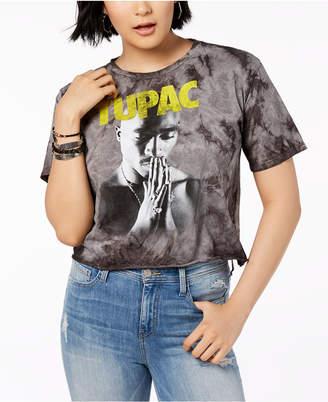 Bravado Juniors' Cotton Tupac Graphic-Print T-Shirt