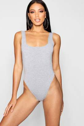 boohoo Basic Scoop Neck Bodysuit